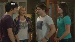 Zeke Kinski, Donna Freedman, Declan Napier, Kate Ramsay in Neighbours Episode 5872
