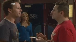 Lucas Fitzgerald, Steph Scully, Toadie Rebecchi in Neighbours Episode 5873