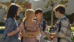 Kate Ramsay, Donna Freedman, Zeke Kinski, Declan Napier in Neighbours Episode 5873