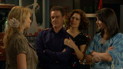 Donna Freedman, Paul Robinson, Rebecca Napier, Kate Ramsay in Neighbours Episode 5875