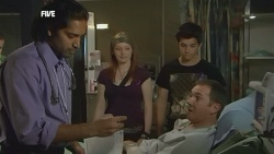 Doug Harris, Mia Zannis, Zeke Kinski, Karl Kennedy in Neighbours Episode 5877