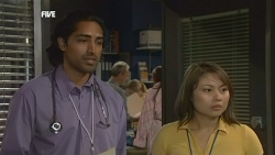 Doug Harris, Nurse Jodie Smith in Neighbours Episode 5877