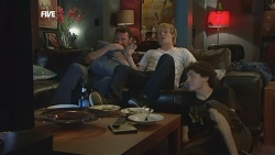 Lucas Fitzgerald, Andrew Robinson, Harry Ramsay in Neighbours Episode 5880