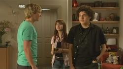 Andrew Robinson, Summer Hoyland, Harry Ramsay in Neighbours Episode 5880