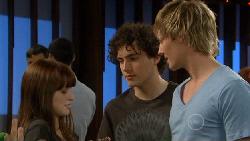 Summer Hoyland, Harry Ramsay, Andrew Robinson in Neighbours Episode 5884