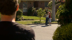 Lucas Fitzgerald, Steph Scully, Toadie Rebecchi in Neighbours Episode 5884