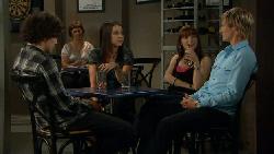 Harry Ramsay, Renee Righetti, Summer Hoyland, Andrew Robinson in Neighbours Episode 5884