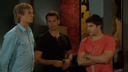 Andrew Robinson, Lucas Fitzgerald, Declan Napier in Neighbours Episode 5885