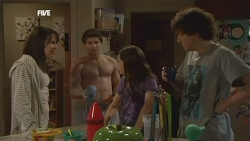 Kate Ramsay, Declan Napier, Sophie Ramsay, Harry Ramsay in Neighbours Episode 5887