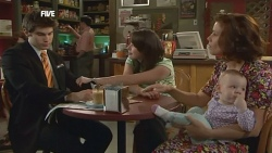 Declan Napier, Kate Ramsay, Rebecca Napier, India Napier in Neighbours Episode 5887