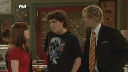 Summer Hoyland, Harry Ramsay, Andrew Robinson in Neighbours Episode 5887
