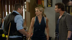 Toadie Rebecchi, Steph Scully, Lucas Fitzgerald in Neighbours Episode 5889