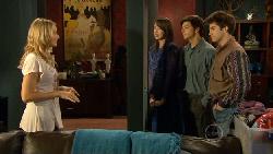 Donna Freedman, Kate Ramsay, Zeke Kinski, Declan Napier in Neighbours Episode 5890