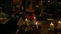 Declan Napier, Kate Ramsay, Donna Freedman, Zeke Kinski in Neighbours Episode 5890