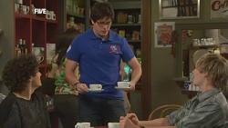 Harry Ramsay, Chris Pappas, Andrew Robinson in Neighbours Episode 5893