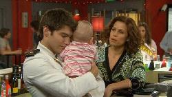 Declan Napier, India Napier, Rebecca Napier in Neighbours Episode 5895