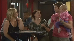 Steph Scully, Libby Kennedy, Declan Napier, India Napier in Neighbours Episode 5897