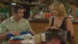 Toadie Rebecchi, Steph Scully, Jumilla Chandra in Neighbours Episode 5897