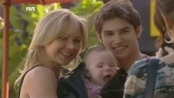 Steph Scully, India Napier, Declan Napier, Libby Kennedy in Neighbours Episode 5897