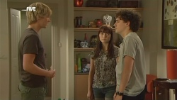 Andrew Robinson, Summer Hoyland, Harry Ramsay in Neighbours Episode 5897