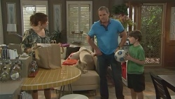 Libby Kennedy, Karl Kennedy, Ben Kirk in Neighbours Episode 5898