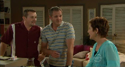 Toadie Rebecchi, Karl Kennedy, Susan Kennedy in Neighbours Episode 5900