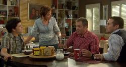 Zeke Kinski, Susan Kennedy, Karl Kennedy, Toadie Rebecchi in Neighbours Episode 5900