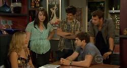 Donna Freedman, Kate Ramsay, Zeke Kinski, Declan Napier, Lucas Fitzgerald in Neighbours Episode 5900