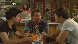 Zeke Kinski, Kate Ramsay, Lucas Fitzgerald, Declan Napier in Neighbours Episode 5901