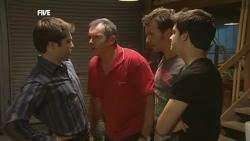 Declan Napier, Karl Kennedy, Lucas Fitzgerald, Zeke Kinski in Neighbours Episode 5901