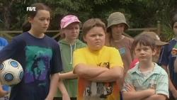 Sophie Ramsay, Callum Jones, Ben Kirk in Neighbours Episode 5902