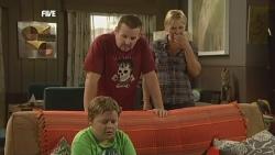 Callum Jones, Toadie Rebecchi, Steph Scully in Neighbours Episode 5903