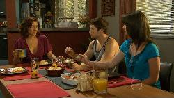 Rebecca Napier, Declan Napier, Kate Ramsay in Neighbours Episode 5909