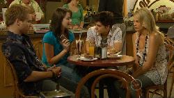 Ringo Brown, Kate Ramsay, Zeke Kinski, Donna Freedman in Neighbours Episode 5909