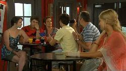 Kate Ramsay, Declan Napier, Susan Kennedy, Zeke Kinski, Karl Kennedy, Donna Freedman in Neighbours Episode 5911
