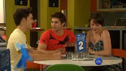 Zeke Kinski, Declan Napier, Kate Ramsay in Neighbours Episode 5911