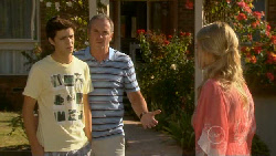Zeke Kinski, Karl Kennedy, Donna Freedman in Neighbours Episode 5912