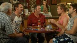 Lou Carpenter, Lucas Fitzgerald, Karl Kennedy, Ringo Brown, Declan Napier in Neighbours Episode 5913
