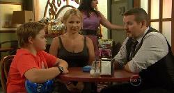 Callum Jones, Steph Scully, Toadie Rebecchi in Neighbours Episode 5914