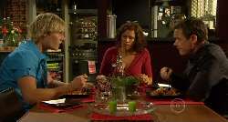 Andrew Robinson, Rebecca Napier, Paul Robinson in Neighbours Episode 5914