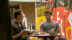 Lucas Fitzgerald, Declan Napier in Neighbours Episode 5915