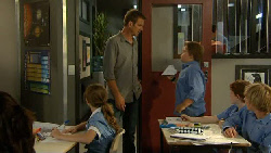 Sophie Ramsay, Michael Williams, Callum Jones in Neighbours Episode 5917