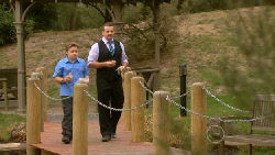 Callum Jones, Toadie Rebecchi in Neighbours Episode 5917