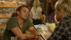 Lucas Fitzgerald, Andrew Robinson in Neighbours Episode 5918