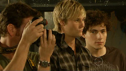 Lucas Fitzgerald, Andrew Robinson, Harry Ramsay in Neighbours Episode 5918