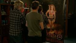 Andrew Robinson, Lucas Fitzgerald, Paul Robinson, Natasha Williams in Neighbours Episode 5918