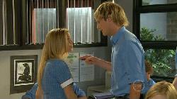 Natasha Williams, Andrew Robinson in Neighbours Episode 5918