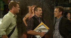Michael Williams, Toadie Rebecchi, Paul Robinson in Neighbours Episode 5919