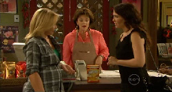 Steph Scully, Lyn Scully, Libby Kennedy in Neighbours Episode 5919