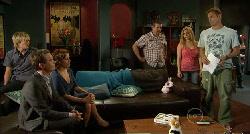 Andrew Robinson, Paul Robinson, Rebecca Napier, Toadie Rebecchi, Natasha Williams, Michael Williams in Neighbours Episode 5921